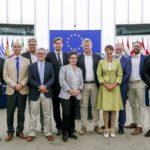 AfD-Delegation im EU-Parlament