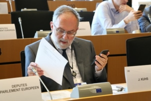 Joachim Kuhs im Haushaltsausschuss