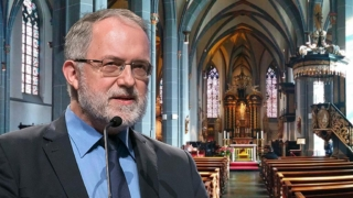 Joachim Kuhs in der Kirche