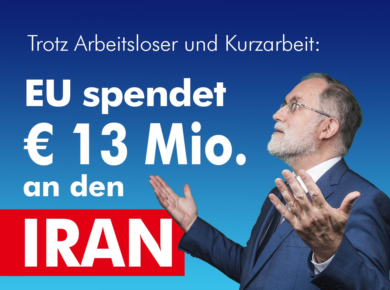 EU spendet an Iran