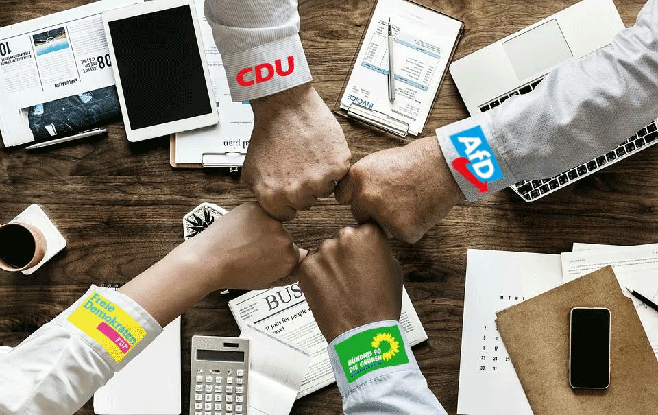 AfD, CDU und FDP beschließen Bericht