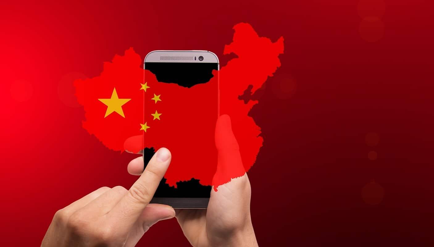 kommunistische Smartphone-Diktatur China