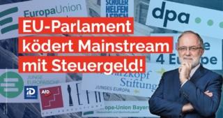 """Anfang Juli 2021 veröffentlichte das EU-Parlament eine Liste jener Medien und Organisationen, die im Jahr 2020 finanzielle Zuschüsse vom EU-Parlament, also Geld vom Steuerzahler, erhalten haben.Das Problem ist dabei nicht nur die Massenpropaganda, sondern auch die Manipulation veröffentlichter Meinung. Interessant ist, wie einseitig und unreflektiert beispielsweise die meisten dieser bezuschussten Organisationen die Show-Veranstaltung ohne wirkliche Gestaltungsmöglichkeit namens """"Konferenz über die Zukunft Europas"""" bewerben."""